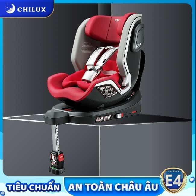 Ghế ngồi ô tô cho bé của Chilux TPHCM đạt tiêu chuẩn quốc tế bảo vệ bé an toàn