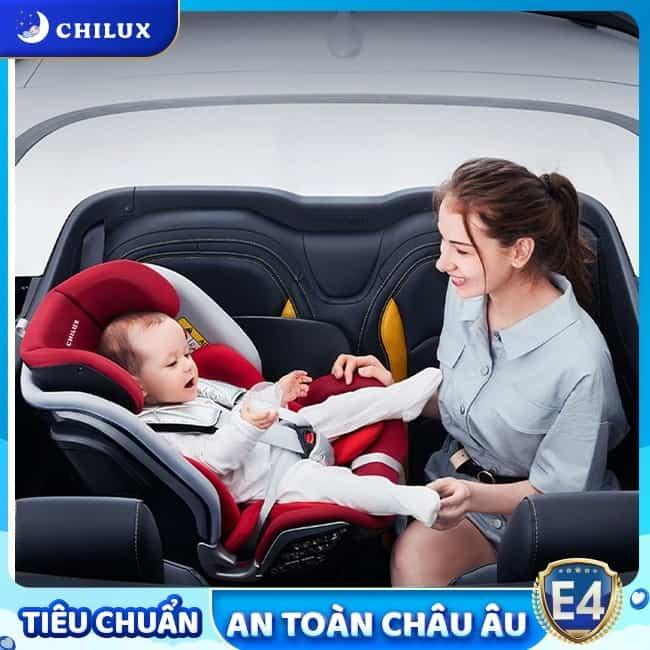 Ghế ngồi ô tô cho bé TPHCM an toàn, chất lượng E4 tại Chilux