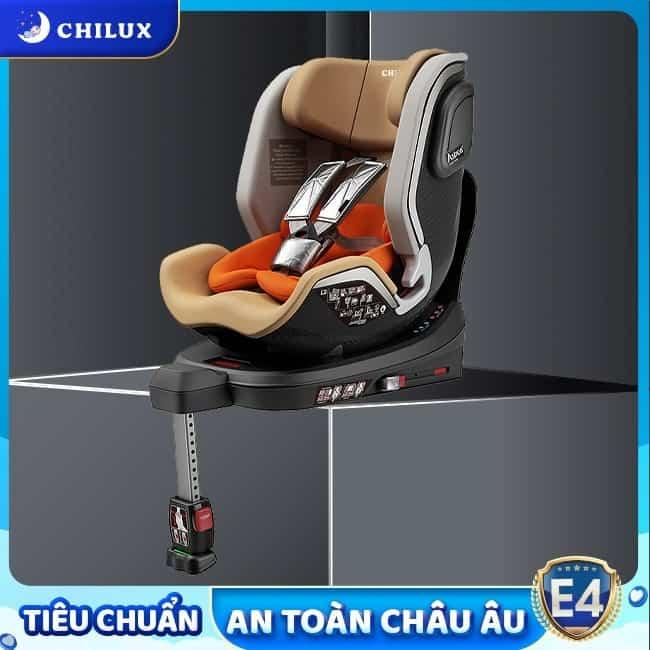 Ghế ô tô cho bé Chilux lắp đặt bằng hệ thống Isofix