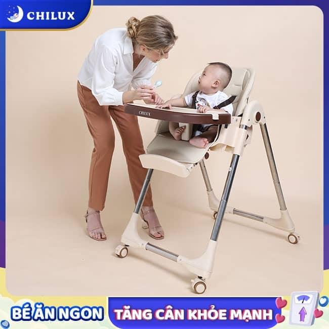 Ghế ăn dặm cho bé ở Đà Nẵng của Chilux chất lượng, cao cấp